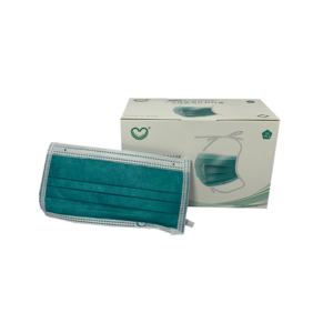 Covid testing surgical mask and box Sethi Laboratories